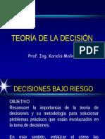 Unidad 4 Decisiones Bajo Riesgo