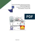 Unidad 1-Termodinamica, Conceptos y Definiciones.