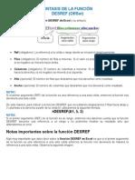 Funcion Desref EXEL (Explicacion)
