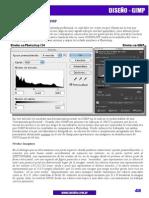 Corrigiendo Niveles en GIMP