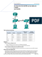 5 3-1-10 Practica de Laboratorio Visualizacion de La Tabla de Direcciones MAC Del Switch