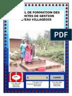 Manuel de Formation Des Comites de Gestion Deau Villageoise