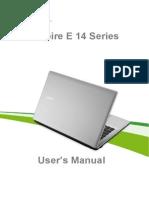 User's Manual Acer E14 Series