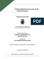 Proyecto de Diseño Preliminar Yate de 40m de Eslora