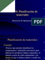 Planificacion Materiales