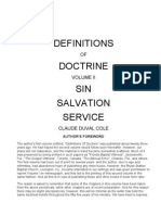 Definitions of Doctrine Volume II