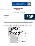 LISTA DE EXERCÍCIOS DE GEOGRAFIA - OUTUBRO - 5ª SÉRIE A E B (1).doc