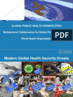 1. GHSA - WHO Global Public Health Perspectives 20 21 August 2014