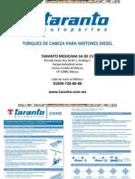 Manual Motores Diesel Torques de Cabeza