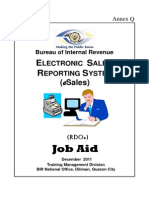 ESales(RDO) Job Aid