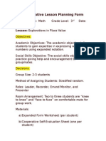the lesson plan form