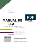 Manual Electronica Analogica 2da Version