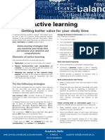 Active Learning Update 051112