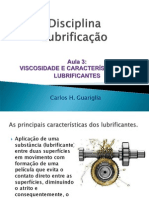 LubViscosidadeCaracteristicasLubrificantes_