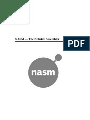 NASM - The Netwide Assembler | Computer Programming
