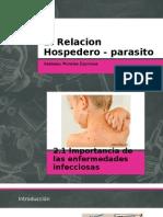 Relacion Hospedero Parasito