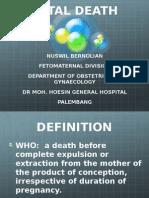 Fetal Death