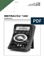 Metra Hit 18c Calibrator 0900766b80130de9