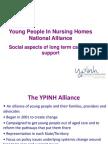 Social Issues Long Term Care Alan Blackwood ACHRF 2011