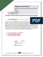 IPSA Produit Scalaire Et Vectoriel 2011-2012