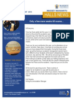 Halls News Issue Six 2015