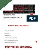 Caso Clinico de Periodoncia