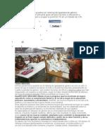 El Perú Retrocedió 13 Puestos en Ránking de Igualdad de Género