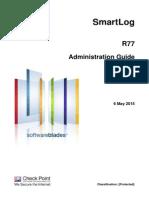 CP R77 SmartLog AdminGuide