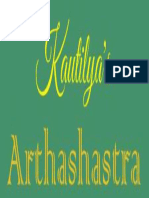 Arthashastra of Chanakya - English