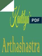 Arthashastra of Chanakya - English