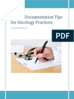 ICD-10 Documentation Tips for Oncology Practices