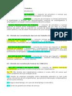 Divisão Do Dt - Conceito - Relação de Trabalho e Relação de Emprego - Aula Inaugural - 17.08.15 (1)