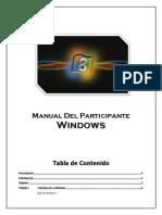 Manual Del Participante Windows
