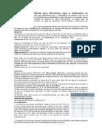 Agua y sedimentos por centrifugacion ASTM-D4007