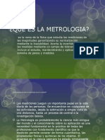 La metrología
