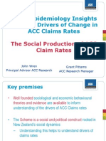 Gp Insights Into Drivers of Claim Rates John Wren ACHRF 2012
