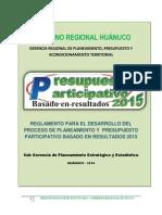 Plan 10146 2015 Presupuesto Participativo 20151