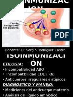 Izoinmunizacion Rh
