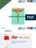 Apheresis Procedures