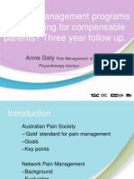 Do Pain Management Programs Keep Working for Compensable Patients Anne_Daly ACHRF 2014