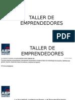 TALLER DE EMPRENDEDORES clase 1.pptx