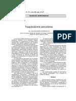 Traqueostomía