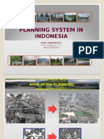 Planning System in Indonesia