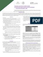 Convocatoria 2015-2016 Manutención