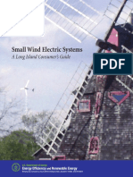 Small Wind electric systems