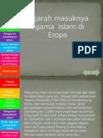 Sejarah Masuknya Islam di Eropa