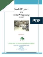 Milk Processing 10000 Lpd