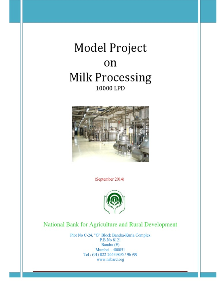 dairy project analysis