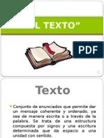 Redacción- El Texto