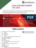 India Vacuum Cleaner Market Supply Chain Analysis